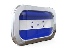 Van de de Knoopvlag van Honduras 3D illustratie Stock Afbeelding