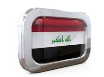 Van de de Knoopvlag van Irak 3D illustratie Royalty-vrije Stock Fotografie