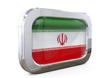 Van de de Knoopvlag van Iran 3D illustratie Stock Fotografie