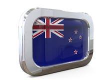 Van de de Knoopvlag van Nieuw Zeeland 3D illustratie Stock Afbeelding