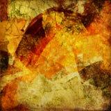 Van de kunst grunge abstracte kaart als achtergrond Royalty-vrije Stock Foto