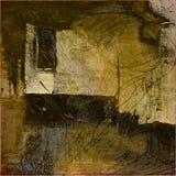 Van de kunst grunge abstracte kaart als achtergrond Royalty-vrije Stock Fotografie