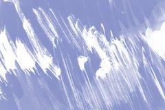 Van de Lavander violette en witte verf abstracte textuur als achtergrond met grungekwaststreken royalty-vrije illustratie