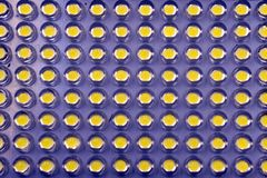 Van de LEIDENE blauwgroene de punten abstracte achtergrond het schermgradiënt stock foto's