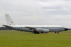 Van de de Luchtzoeker van Royal Air Force RAF Boeing rc-135W van de de Klinknagel de Gezamenlijke Verkenning vliegtuigen ZZ664 in stock foto