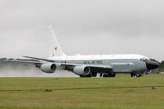Van de de Luchtzoeker van Royal Air Force RAF Boeing rc-135W van de de Klinknagel de Gezamenlijke Verkenning vliegtuigen ZZ664 in stock afbeelding