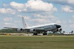 Van de de Luchtzoeker van Royal Air Force RAF Boeing rc-135W van de de Klinknagel de Gezamenlijke Verkenning vliegtuigen ZZ664 in stock foto's