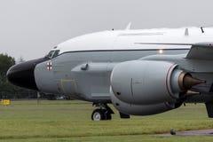 Van de de Luchtzoeker van Royal Air Force RAF Boeing rc-135W van de de Klinknagel de Gezamenlijke Verkenning vliegtuigen ZZ664 in stock fotografie