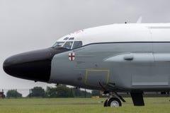 Van de de Luchtzoeker van Royal Air Force RAF Boeing rc-135W van de de Klinknagel de Gezamenlijke Verkenning vliegtuigen ZZ664 in royalty-vrije stock afbeeldingen