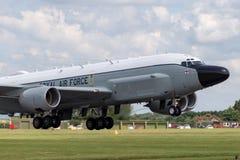 Van de de Luchtzoeker van Royal Air Force RAF Boeing rc-135W van de de Klinknagel de Gezamenlijke Verkenning vliegtuigen ZZ664 in royalty-vrije stock fotografie
