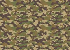 Van de de militairtextuur van het drukgevecht herhaalt de militaire camouflage de naadloze leger groene jacht Stock Afbeeldingen