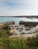 Van de Noord- newquayhaven Cornwall Engeland het UK Stock Afbeelding