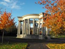 Van de Oorlogs het Herdenkingscathays van Cardiff Centrum van het Parkcardiff stock fotografie