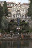 Van de orgaanfontein (Fontana-dell Organo) de Villa D Este, Tivoli Italië Royalty-vrije Stock Afbeeldingen