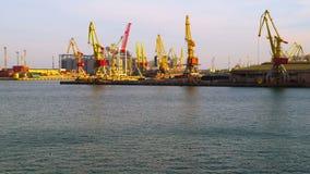 Van de overzeese de Activiteit Handelhaven stock footage