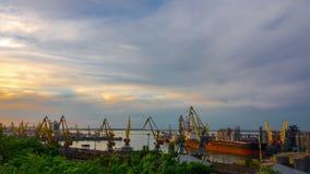 Van de overzeese de Activiteit Handelhaven stock videobeelden