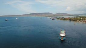 Van de overzeese de haven passagiersveerboot, Gilimanuk Bali, Indonesië