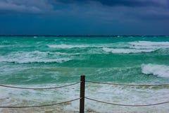Van de overzeese de orkaan Irma onweersbuiwolk Royalty-vrije Stock Afbeelding