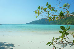 Van de overzeese surineiland Thailand strandhemel Royalty-vrije Stock Foto's