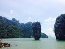 Van de overzeese van eilandthailand Azië de boom strandmangrove Royalty-vrije Stock Foto