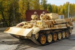 Van de pantserterugwinning en evacuatie voertuig brem-1M Royalty-vrije Stock Fotografie