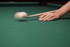 Van de pool (biljart) het spel Stock Afbeeldingen
