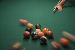 Van de pool (biljart) het spel Royalty-vrije Stock Afbeeldingen