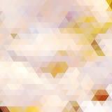 Van de regenboog geometrische herfst kaart als achtergrond. Stock Afbeeldingen