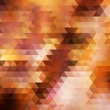 Van de regenboog geometrische herfst kaart als achtergrond. Royalty-vrije Stock Afbeelding