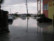 Van de de schaderegen van het vloedonweer de stortvloed van de de orkaantornado royalty-vrije stock afbeeldingen