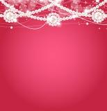 Van de schoonheidsparel vectorillustratie als achtergrond Stock Fotografie