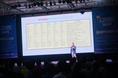 Van de Shenzhenwetenschap en Technologie Innovatieconferentie stock foto