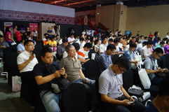 Van de Shenzhenwetenschap en Technologie Innovatieconferentie Royalty-vrije Stock Afbeelding