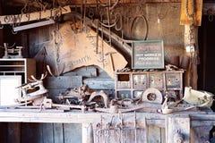 van de Smidsat australia van het de 19de eeuwdorp van de de Vlaggemastheuvel het Maritieme Museum royalty-vrije stock afbeelding