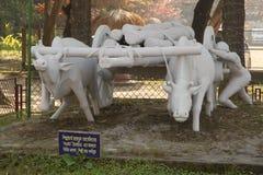 Van de Sonargaon volkskunst en ambacht museum stock afbeelding