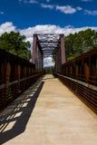 Van de Spoorwegmahoning van Erie de Rivierbrug Royalty-vrije Stock Foto's