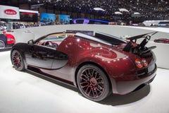 Van de Sportvitesse van Bugatti Veyron Grote het Finaleauto van La Royalty-vrije Stock Afbeeldingen