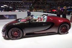 Van de Sportvitesse van Bugatti Veyron het Grote Finale van La Royalty-vrije Stock Afbeeldingen