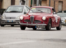 Van de Sprintpinin van Alfa Romeo 1900 Farina 1952 Royalty-vrije Stock Afbeeldingen