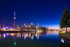 Van de stadscanada van Toronto de lokale veerboot royalty-vrije stock afbeelding