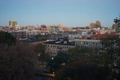 Van de Stadsharlem van New York de Rivier de V.S. Manhattan Stock Foto