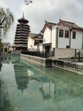 Van de de Stadslente van China Guangxi Beihai het Toerismeverslag royalty-vrije stock foto