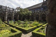 Van de stadsnederland van Utrecht historische de kerktuin Stock Afbeelding