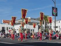 Van de de Stadsuniversiteit van Pasadena de de Eerband toont van de buitengewone Toernooien o Royalty-vrije Stock Fotografie