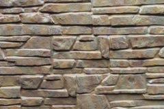 Van de steenmuur sterke de sterkte van het concrete plakgraniet als achtergrond Stock Fotografie