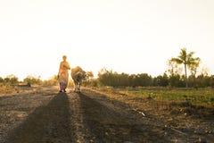 Van de de straatfotografie van Salem fotografie van het nanudorp van India tamil stock foto