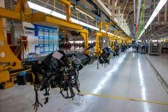 Van de Takchangan van Changan de Automobiele Peking lopende band van het de autocontrolebord Royalty-vrije Stock Foto