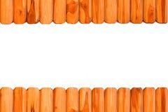 Van de teak houten textuur kader als achtergrond Royalty-vrije Stock Afbeelding