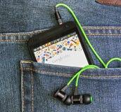 Van de Telefoongoogle van HTC de Mobiele toegelaten toepassing Spel Stock Afbeelding