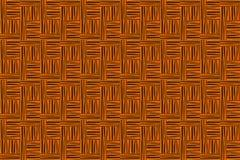 Van de textuur donker houten vierkant kubus abstract canvas als achtergrond Royalty-vrije Stock Afbeeldingen